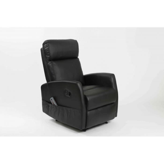 Fauteuil de massage compact couleur noir achat vente fauteuil noir cdis - Fauteuil de massage scholl ...