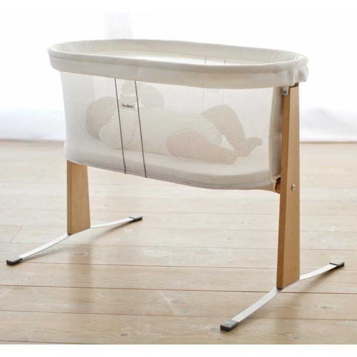 Babybjorn berceau blanc et bois achat vente berceau et support 7317680411 - Cdiscount berceau bebe ...