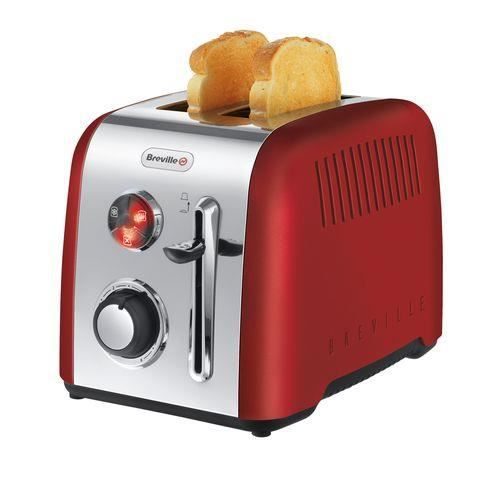 breville grille pain rouge vtt536x achat vente grille pain toaster cdiscount. Black Bedroom Furniture Sets. Home Design Ideas