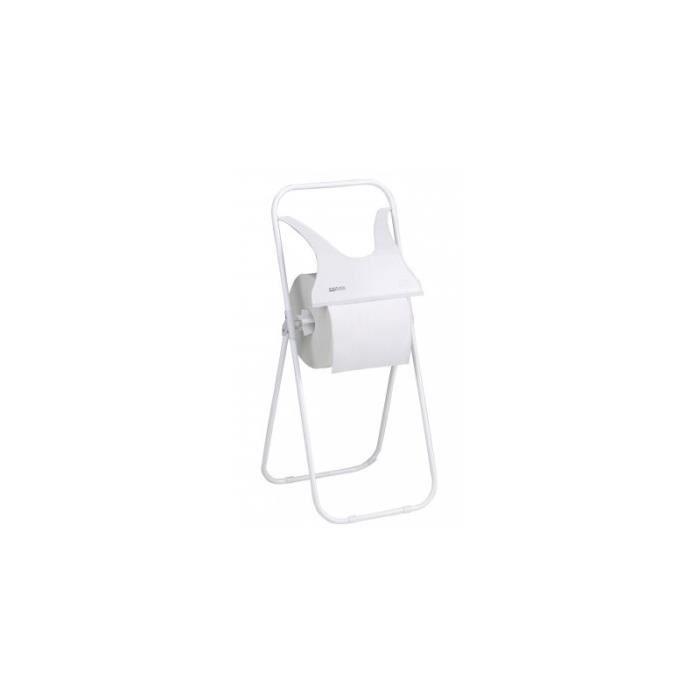 Derouleur sur pied de bobine ouate dimensions 400x70x950mm achat vente serviteur wc - Derouleur papier wc sur pied ...