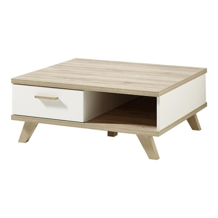 Table Basse Oslo Ch Ne Blanc Achat Vente Table Basse