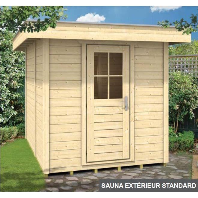 sauna exterieur en kit maison design