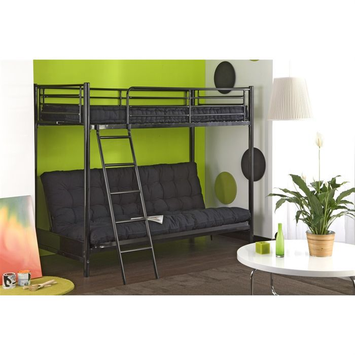 pin lit mezzanine adulte 2 places image search results on. Black Bedroom Furniture Sets. Home Design Ideas