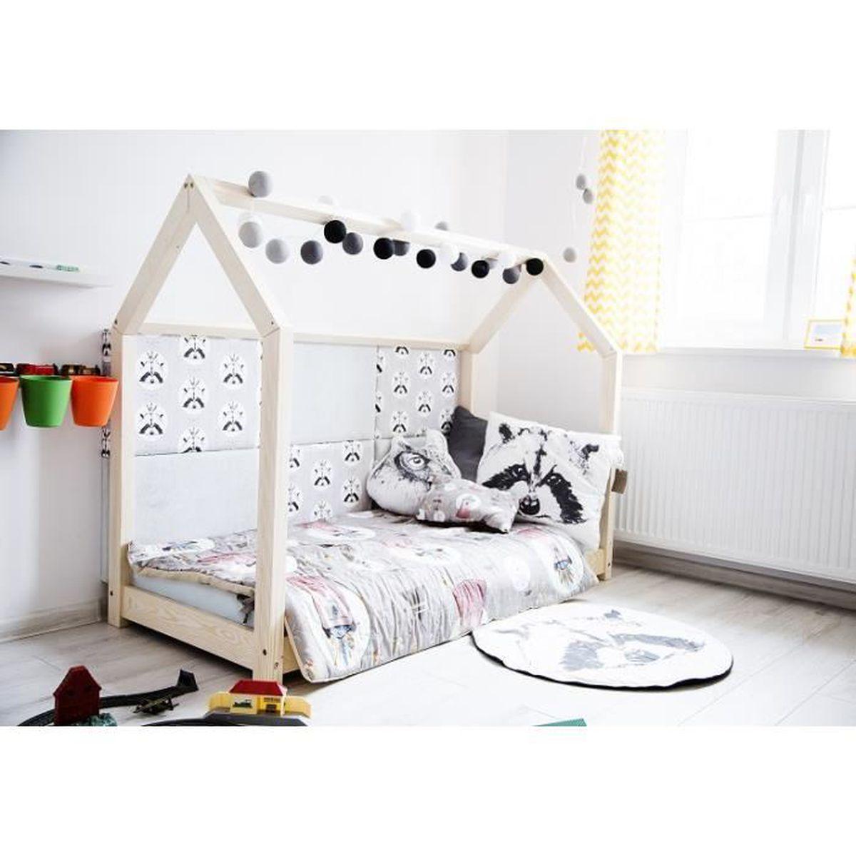 lit cabane achat vente lit cabane pas cher les soldes sur cdiscount cdiscount. Black Bedroom Furniture Sets. Home Design Ideas