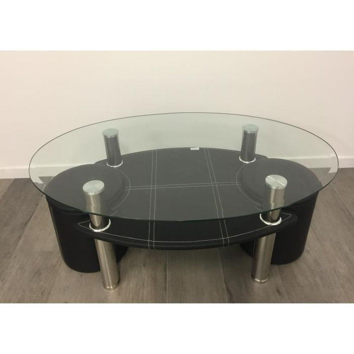 Table basse avec tabouret achat vente table basse avec - Table basse c discount ...