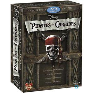 BLU-RAY FILM Blu-Ray Coffret intégrale pirates des Caraibes