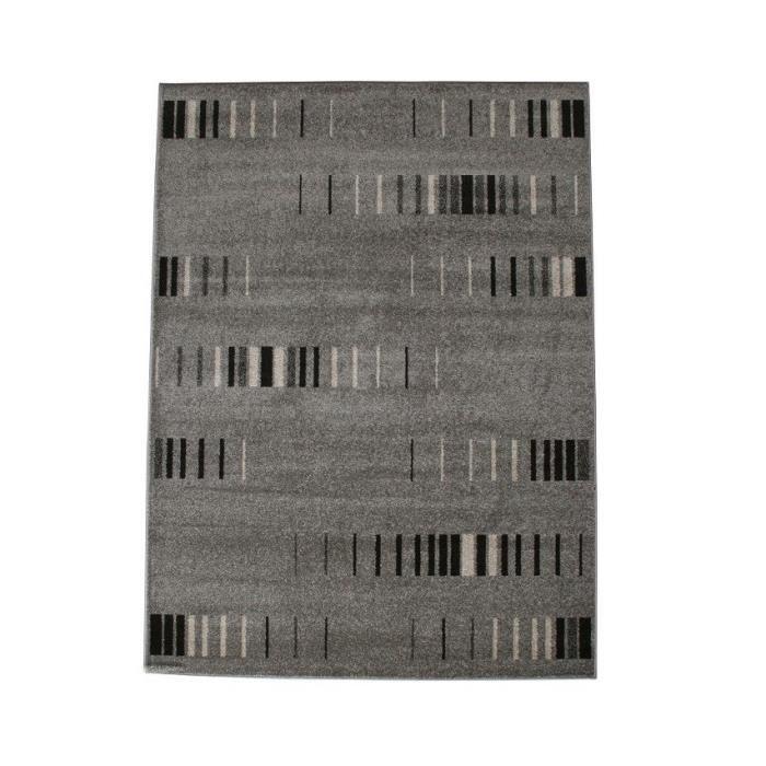 COSI Tapis de salon gris 120x170 cm Achat / Vente tapis 100%