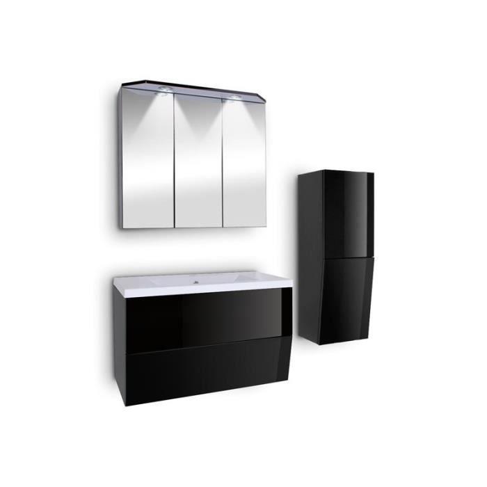 Ensemble de salle de bains noir achat vente ensemble for Lavabo noir salle de bain