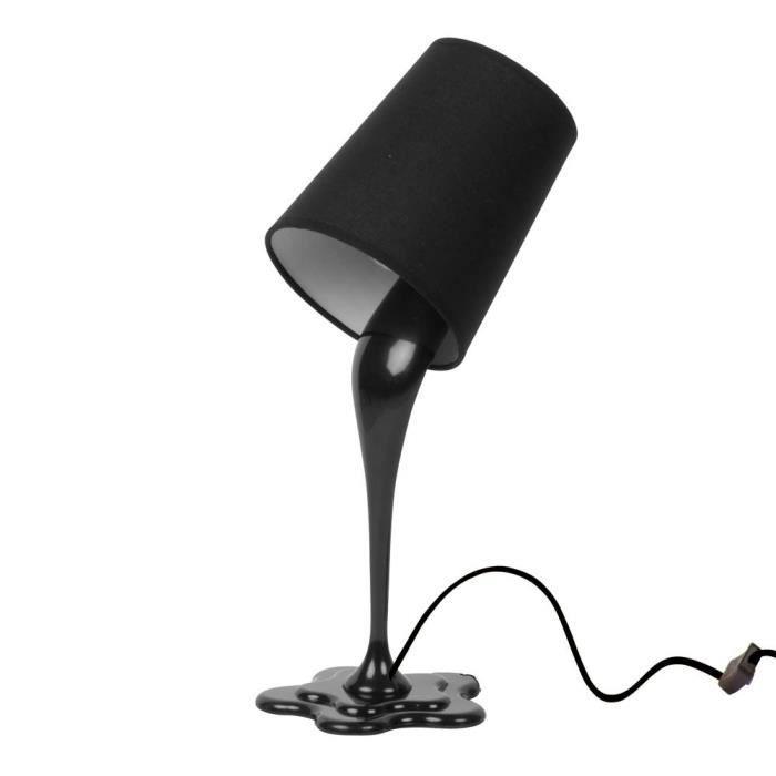 lampe pot de peinture noire achat vente. Black Bedroom Furniture Sets. Home Design Ideas