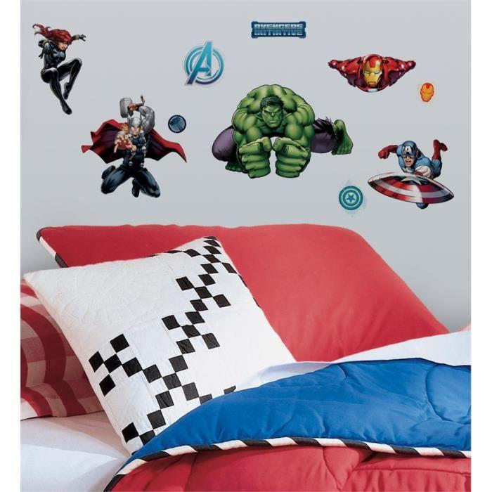 Stickers muraux adhesif mural avengers achat vente - Decoration stickers muraux adhesif ...
