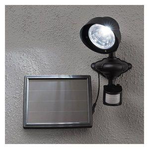 projecteur exterieur solaire detection de presence achat. Black Bedroom Furniture Sets. Home Design Ideas