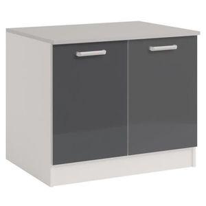 meuble sous vier 120 cm achat vente meuble sous vier 120 cm pas cher cdiscount. Black Bedroom Furniture Sets. Home Design Ideas