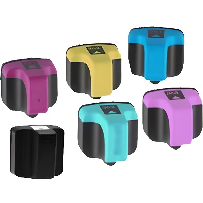 6 compatible encre cartouche pour hp 363 photosmart c7288. Black Bedroom Furniture Sets. Home Design Ideas