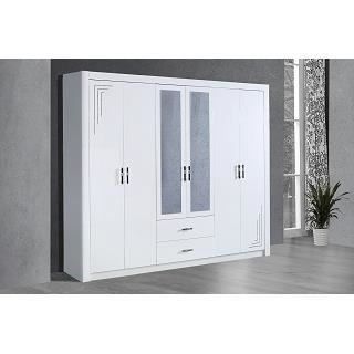 39 armoire 6 portes modle ciara achat vente armoire de chambre - Modele Porte Chambre