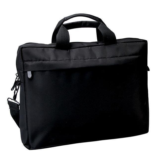 sacoche ordinateur 15 pouces polyester noir achat. Black Bedroom Furniture Sets. Home Design Ideas