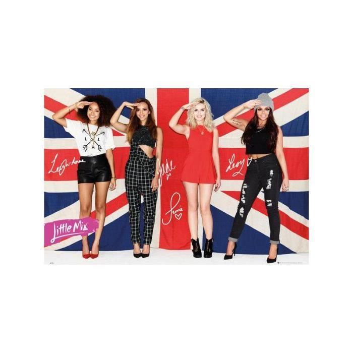 Affiche Little Mix Achat Vente Affiche Cdiscount
