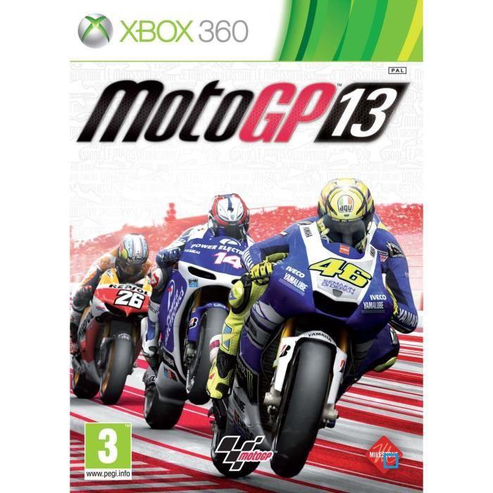 JEUX XBOX 360 Jeu Xbox360 BIGBEN Moto GP 13
