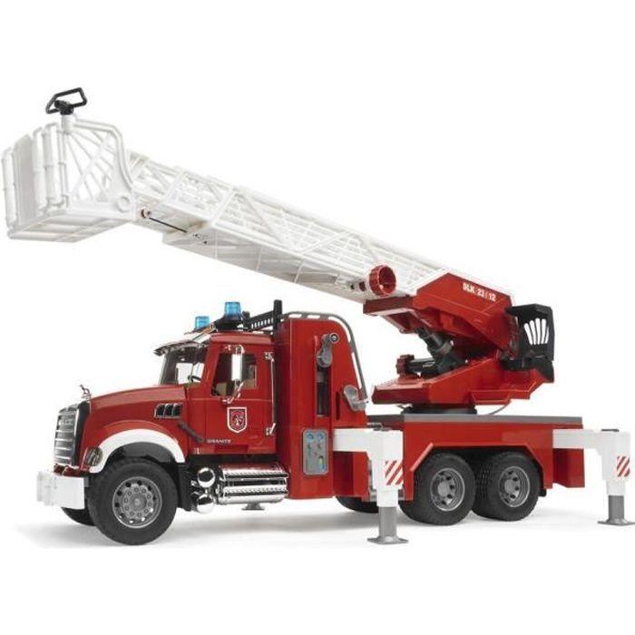 Camion pompier grande chelle mack s rie pro de l achat - Image camion pompier ...