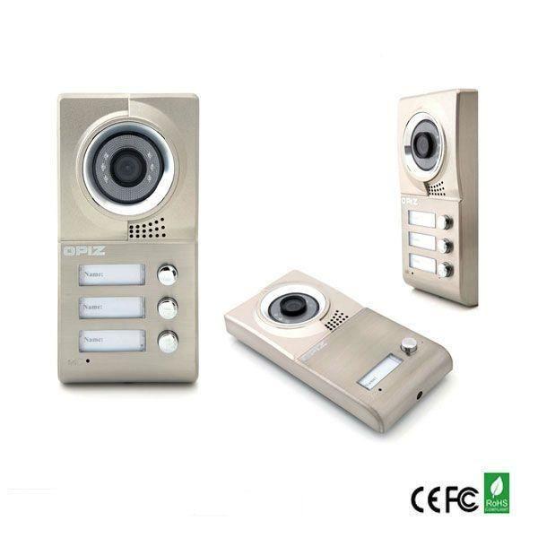 Platine de rue 3 appartements achat vente interphone for Interphone sans fil interieur maison