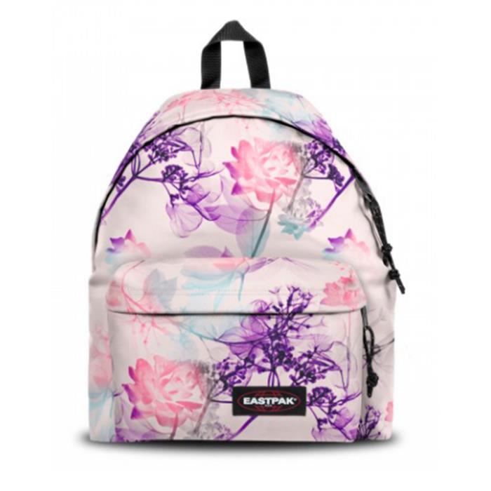 sac dos scolaire eastpak de la collection padded pink ray rose pinkray achat vente sac. Black Bedroom Furniture Sets. Home Design Ideas
