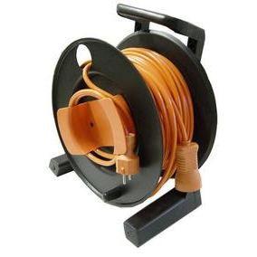 enrouleur de cable electrique 25 m achat vente multiprise rallonge cdiscount. Black Bedroom Furniture Sets. Home Design Ideas