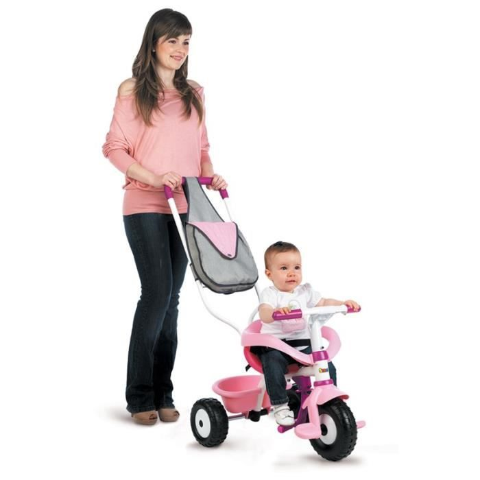 smoby tricycle be fun confort fille prix pas cher les. Black Bedroom Furniture Sets. Home Design Ideas