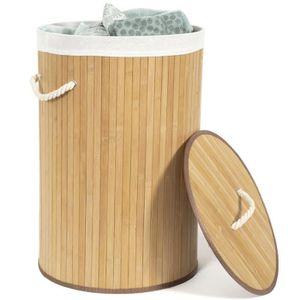 panier linge achat vente panier linge pas cher cdiscount. Black Bedroom Furniture Sets. Home Design Ideas