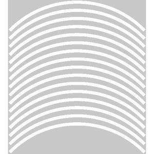 DÉCORATION VÉHICULE Liseret de jante - Largeur des liserets : 8 mm Ref