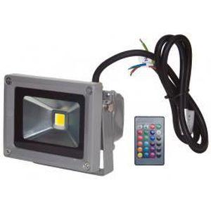 projecteur led avec telecommande achat vente projecteur led avec telecommande pas cher. Black Bedroom Furniture Sets. Home Design Ideas