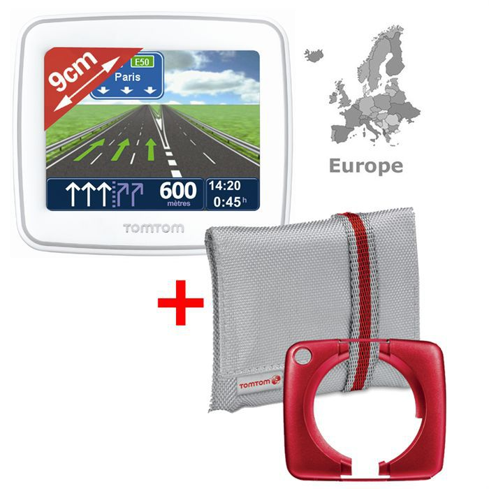tomtom start 2 blanc achat vente gps auto tomtom start 2 blanc soldes d t cdiscount. Black Bedroom Furniture Sets. Home Design Ideas