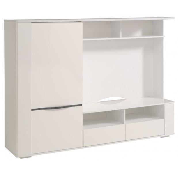mur t l achat vente meuble tv mur t l soldes d. Black Bedroom Furniture Sets. Home Design Ideas