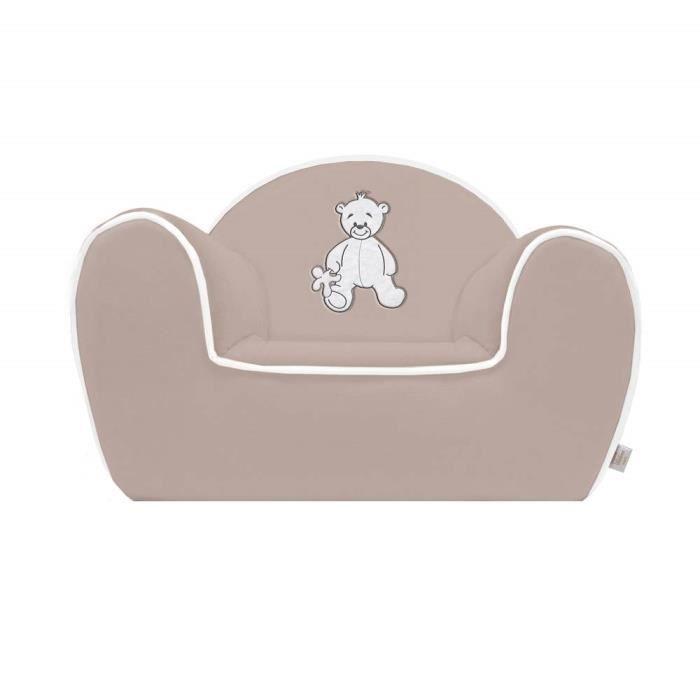 fauteuil club matth o fabriqu en france gris achat vente fauteuil canap b b. Black Bedroom Furniture Sets. Home Design Ideas