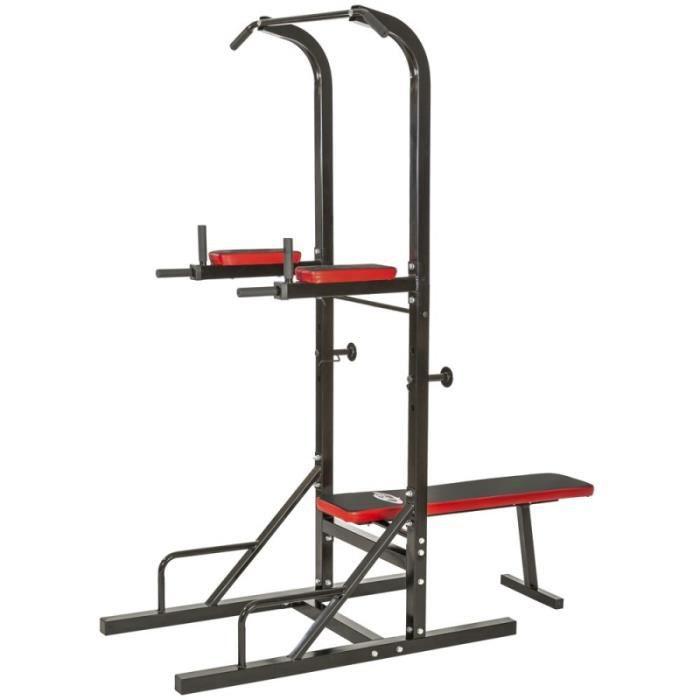 Station de musculation compl te dips tractions halt re sport fitness 0708020 - Station de musculation pas cher ...