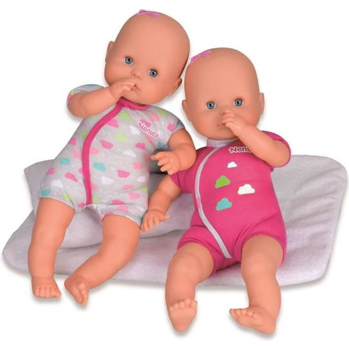 poupee jumeaux achat vente jeux et jouets pas chers. Black Bedroom Furniture Sets. Home Design Ideas