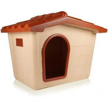 niche chien plastique toit amovible cuccia l achat vente niche niche chien plastique toit. Black Bedroom Furniture Sets. Home Design Ideas
