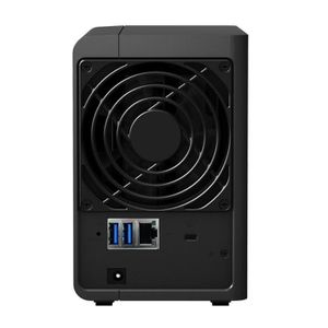 Synology Boîtier NAS 2 Baies DS214