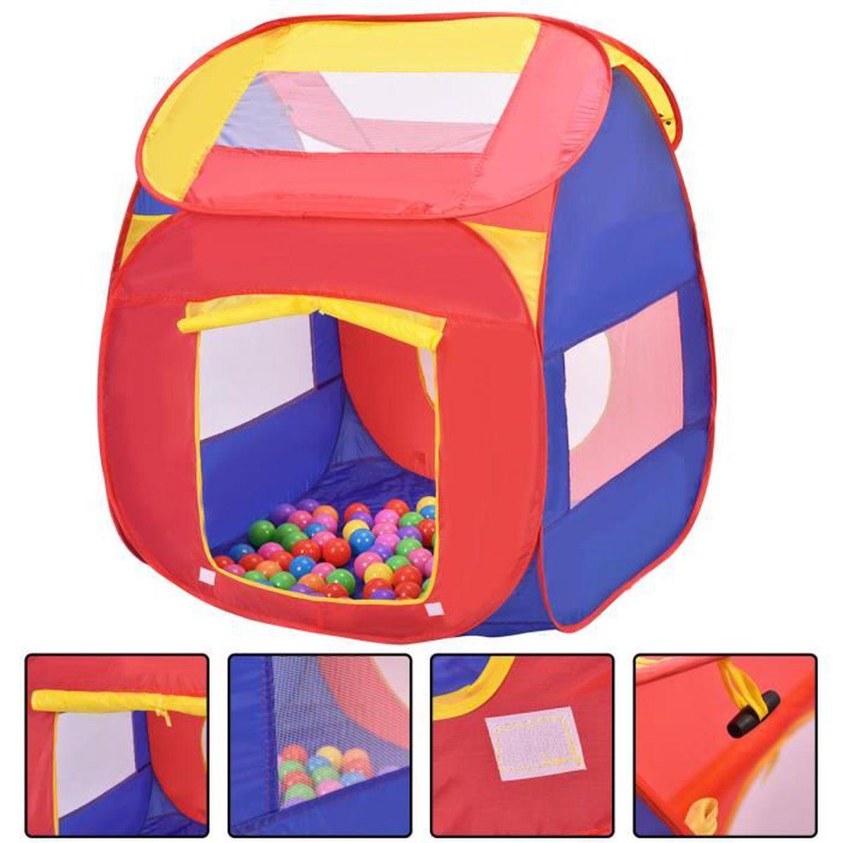 Tente de jeu pour enfants maison jouet ext rieur int rieur for Maison jouet exterieur