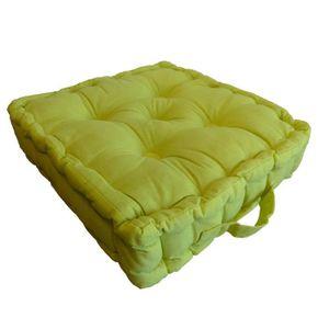 coussin de sol achat vente coussin de sol pas cher cdiscount. Black Bedroom Furniture Sets. Home Design Ideas