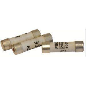 VOLTMAN Pack 3 Fusibles avec voyant de fusion 8,5 x 31,5 mm - 20 A - 400 V