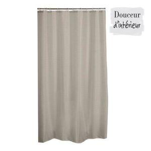 rideau de douche taupe achat vente rideau de douche taupe pas cher cdiscount. Black Bedroom Furniture Sets. Home Design Ideas