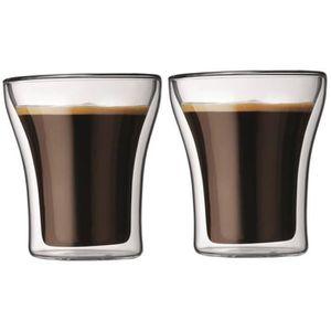 verre a cafe double paroi achat vente verre a cafe double paroi pas cher cdiscount. Black Bedroom Furniture Sets. Home Design Ideas