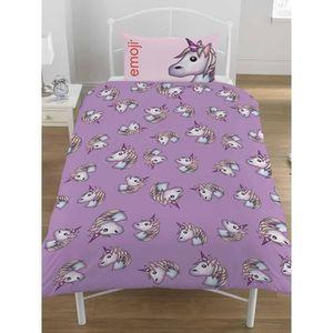 linge de lit licorne achat vente linge de lit licorne pas cher cdiscount. Black Bedroom Furniture Sets. Home Design Ideas