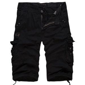 SHORT Cargo Shorts Homme  Automne Marque Luxe Pantalon c