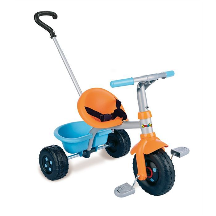 smoby tricycle canne be fun orange achat vente. Black Bedroom Furniture Sets. Home Design Ideas