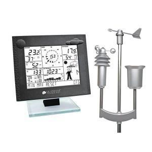 station m t o professionnelle avec traitement de donn es horloge radioguid e via le signal. Black Bedroom Furniture Sets. Home Design Ideas