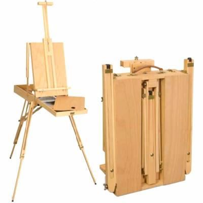 Chevalet coffret de peinture achat vente chevalet de peintre chevalet coffret de Mini chevalet de table