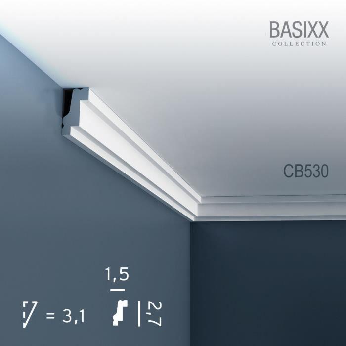 corniche moulure cimaise d coration de stuc orac decor cb530 basixx profil d coratif du mur et. Black Bedroom Furniture Sets. Home Design Ideas