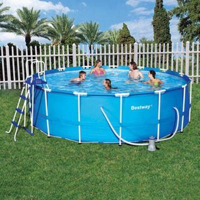 Piscine tubulaire bestway steel pro 4 57x0 91 achat vente kit piscine pis - Piscine bestway tubulaire ...