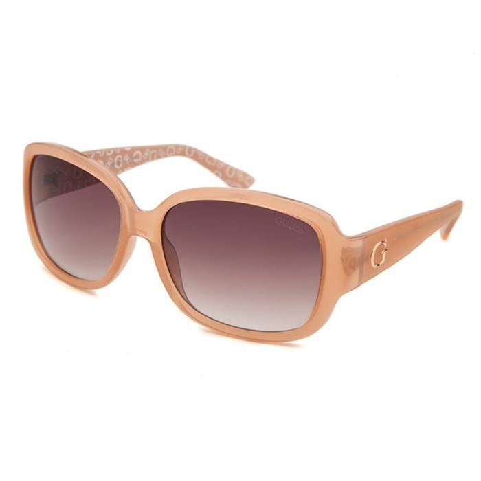 lunettes de soleil femme guess gf0271 72f achat vente lunettes de soleil femme soldes d. Black Bedroom Furniture Sets. Home Design Ideas