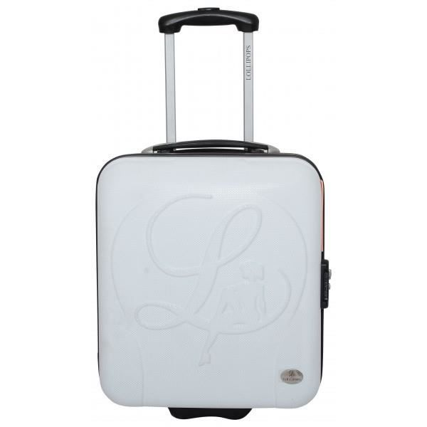 BAGAGE LOLLIPOPS VALISE CABINE LOW COST BLANC